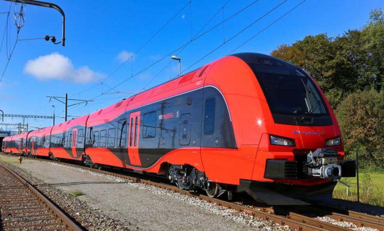 Trainy McTrainface. Beeld Herbert Meier/MTR Express