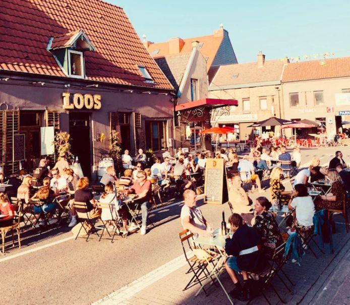 Ook pastarestaurant Loos zal net als vorig jaar de straat innemen met een terras.