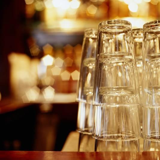 Stockadr horeca café uitgaan sluiting glas bier