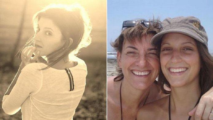 """Autre mystère: Michele van Egten trouve étrange qu'il n'existe aucune photo de sa fille """"pendue""""."""