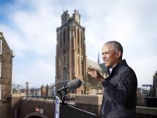 Obama die speecht in de Grote Kerk van Dordrecht? Hij had er zin in, maar de speech kwam er niet