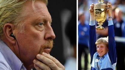 Failliete Boris Becker wil trofeeën verkopen, maar zit met een probleem: hij vindt ze niet meer terug