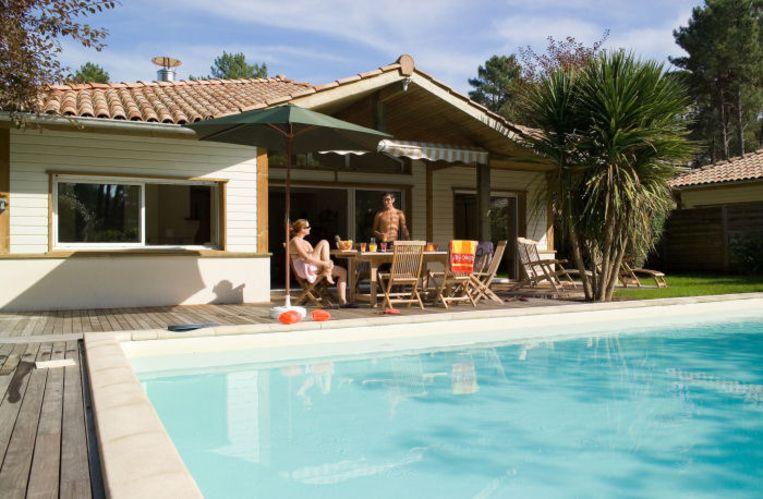 Villas De La Prade in Moliets. Beeld UNKNOWN