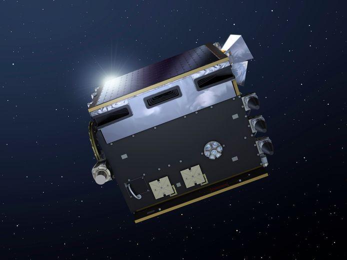 PROBA-V embarque également un télescope qui analysera les particules de l'Espace qui peuvent être nocives pour les astronautes.