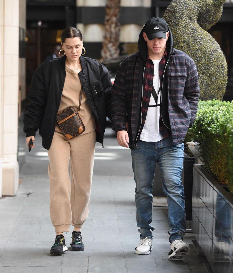 Voorlopig hebben Jessie J en Channing Tatum nog geen trouwplannen, vertelt ze.