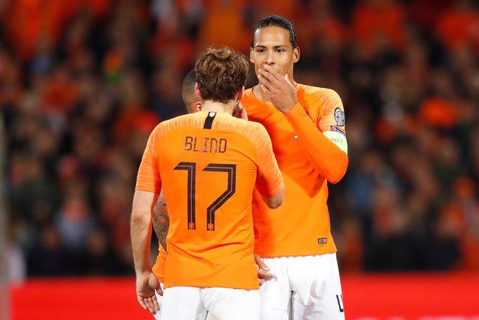 Daley Blind lijkt het EK in tegenstelling tot Virgil van Dijk te gaan halen.