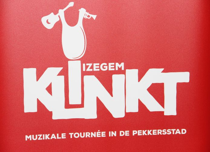 Het logo van Izegem Klinkt.