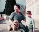 Charles en de Queen Mother.