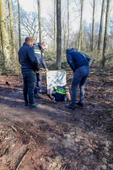 Flinke wietkelder gevonden in buitengebied Esp in Eindhoven