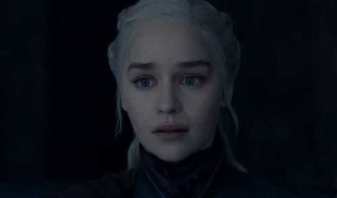 Daenerys is volledig in de ban.