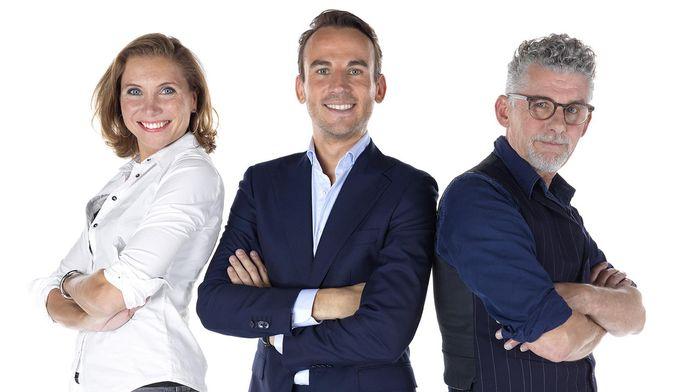 Het team van Business 010: Ingrid Adriaanse, Kevin Brouwer en John Buijsman.