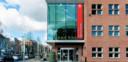 Het huidige districtshuis in Berchem blijft toegankelijk voor fysieke afspraken.