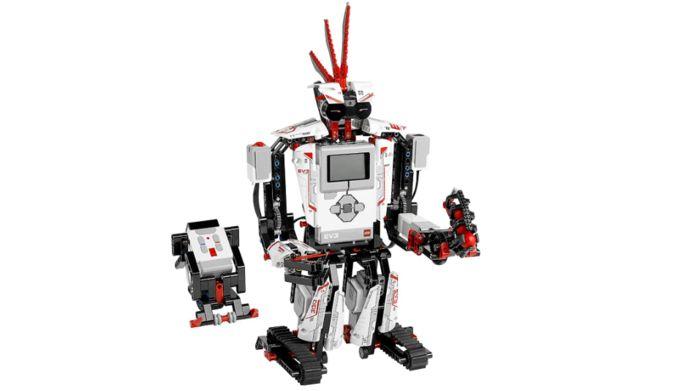 EV3RSTORM, een van de mogelijke robotten die je met Lego Mindstorms EV3 kan maken.