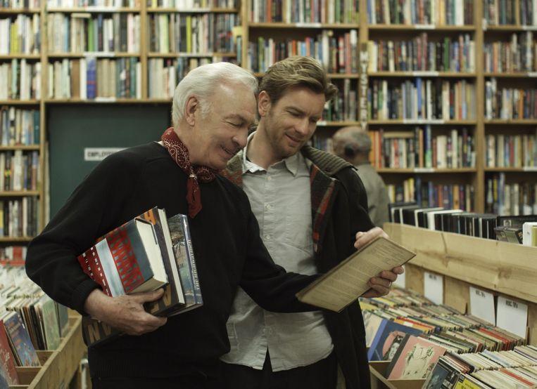 Christopher Plummer (links) en Ewan McGregor in 'Beginners'. Beeld Focus Features