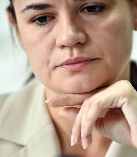 Wit-Russische presidentskandidaat vlucht naar Litouwen, zegt minister: 'Ze is veilig'