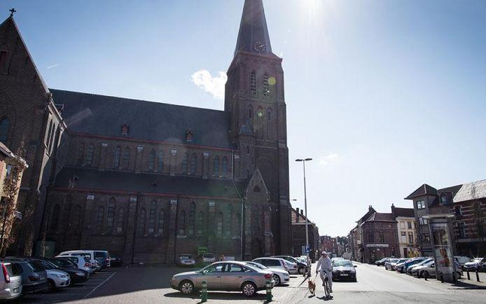 De Heilig Hart-kerk in Sint-Amandsberg.