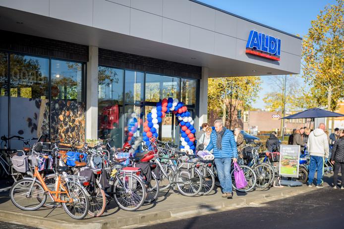 HELMOND - Nieuwe Aldi vestiging in Brouwhuis