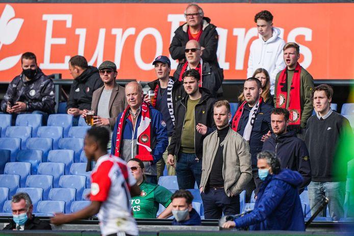 Fans in De Luip.