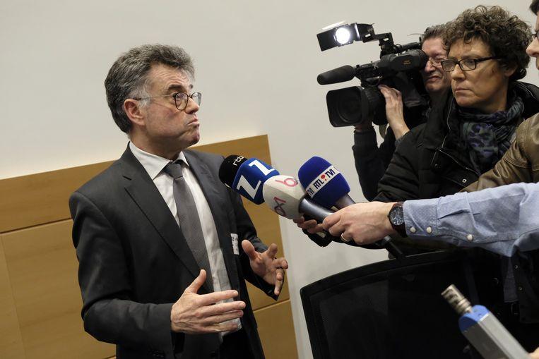 Herman Diricks, directeur-generaal van het FAVV Beeld BELGA