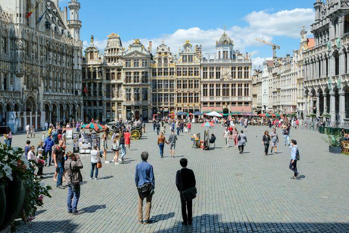 De Grote Markt in Brussel.