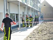 Brandweer en politie rukken uit voor overstroomde woning