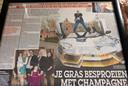 Salar Azimi houdt van publiciteit. In zijn kasteel hangen aan de wand, ingelijst, krantenartikelen met succesverhalen.