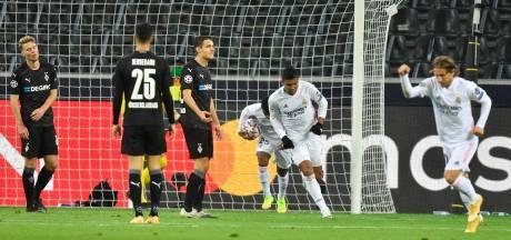 Real Madrid voorkomt in blessuretijd afgang bij Gladbach