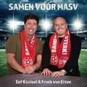 Volkszangers Eef Kasteel en Frank van Etten introduceerden dit seizoen het nieuwe clubleid van MASV.