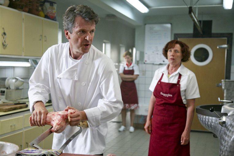 Lucas Van den Eynde en Sien Eggers in Van Vlees en Bloed, de succesreeks uit 2009 die dit najaar weer op het scherm te zien zal zijn. Beeld imdb