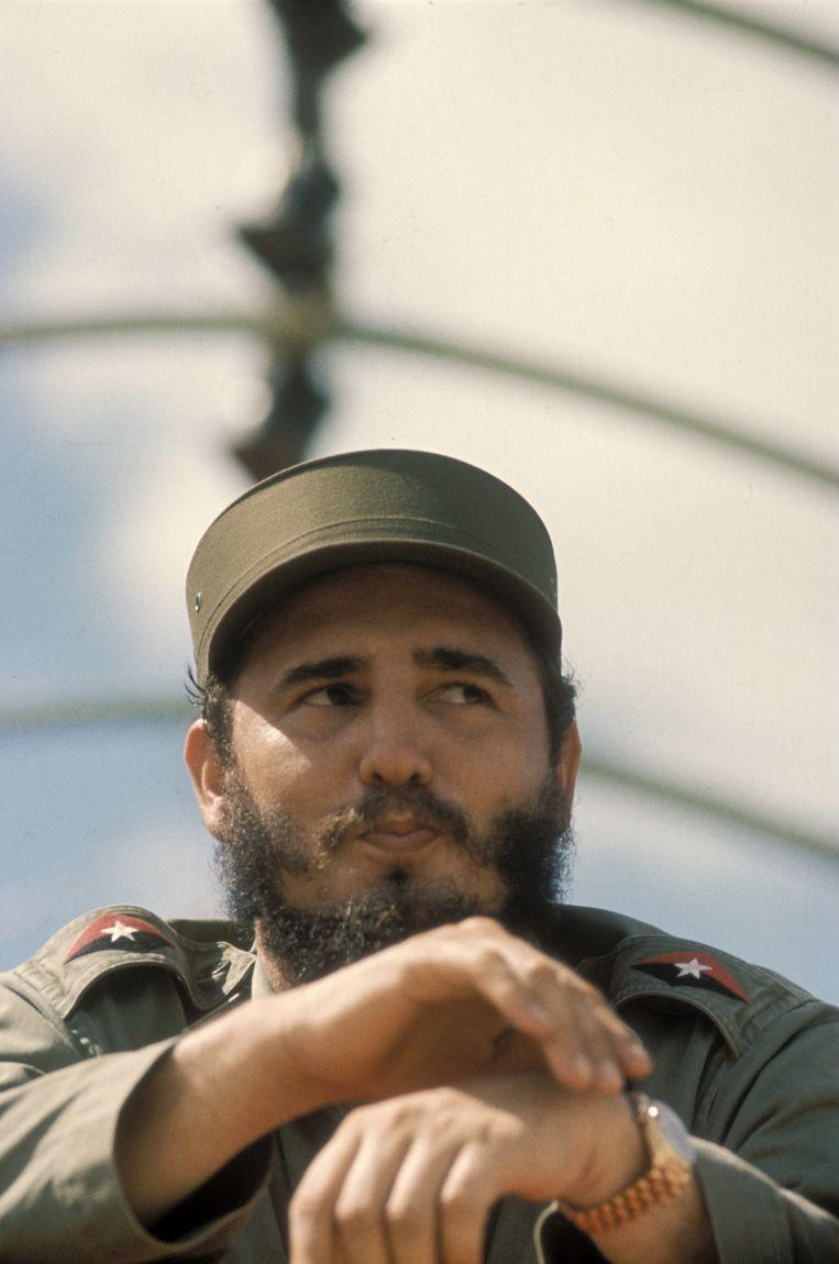 Fidel Castro Beeld Getty