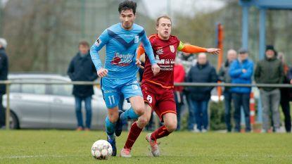 """Guus Vandekerckhove (SK Lochristi) beslissend tegen Lebbeke: """"Leuk dat mijn weinige goals punten opleveren"""""""