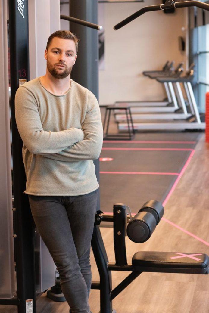 """Sportschoolhouder Rutger Brakel van ProFit in onder andere Zwolle, verwacht dat we na corona harder gaan werken aan onze gezondheid dan daarvoor: """"We beseffen ons nu allemaal dat we kwetsbaarder zijn als we niet gezond en fit zijn."""""""