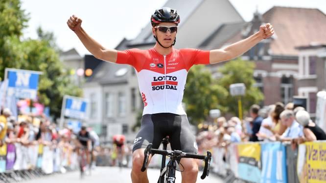 Zondag raast wielerpeloton van beloftenwedstrijd Grote Prijs Rik Van Looy door de Kempen