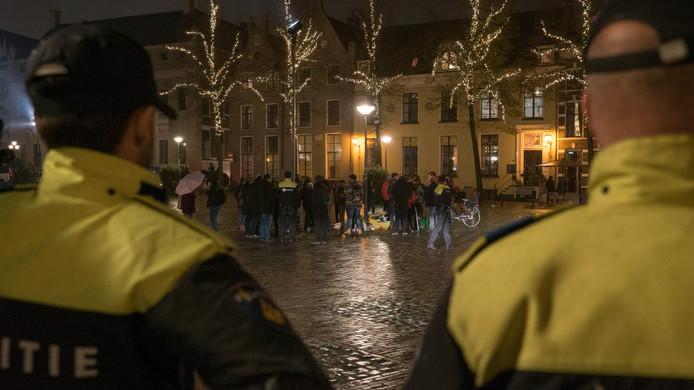 Betoging in Deventer