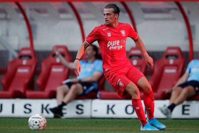 Lazaros Lamprou stuit maandag op zijn oude club Fortuna.
