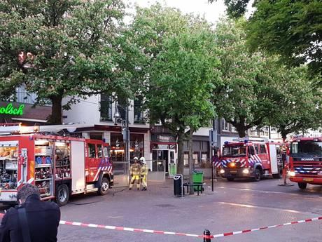 Grote brand in binnenstad Deventer
