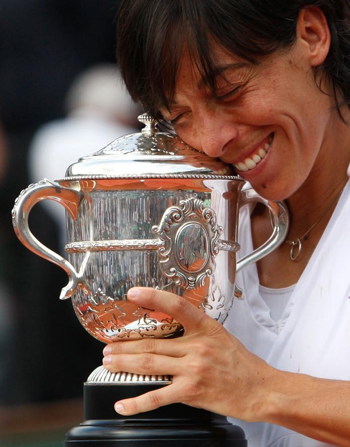 Francesca Schiavone won in 2010 Roland Garros.