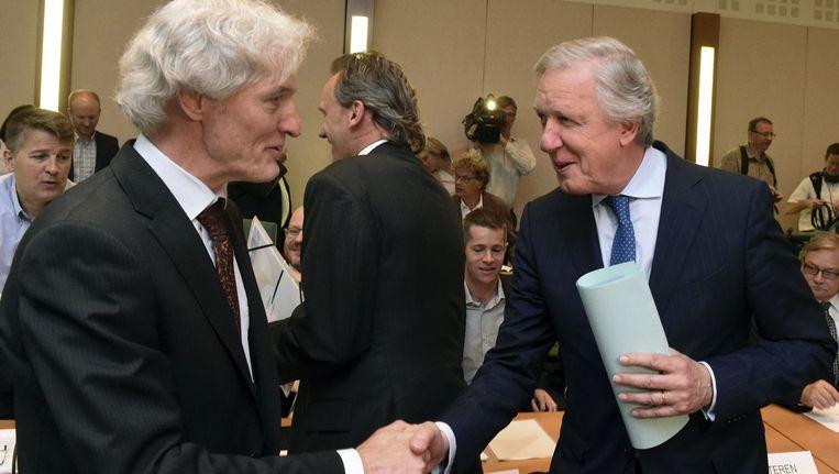 Eerste vergadering van het Nationaal Pensioencomité: minister van Pensioenen Daniel Bacquelaine. Beeld PHOTO_NEWS