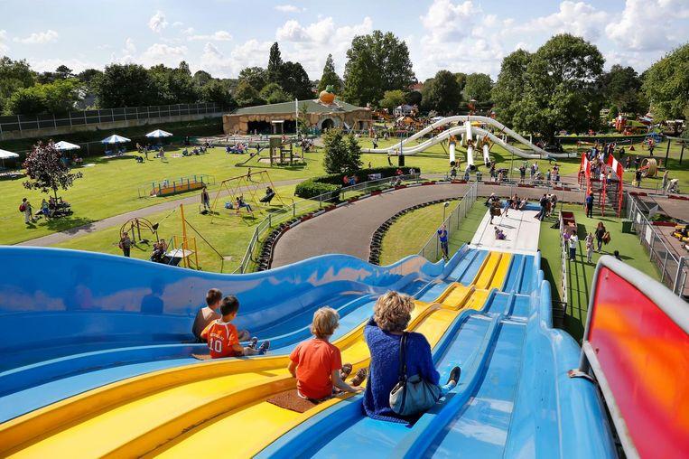 De Linnaeushof is de grootste speeltuin van Europa. Beeld Linnaeushof