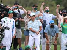 Matsuyama kan historie schrijven op Masters, Conners slaat hole-in-one