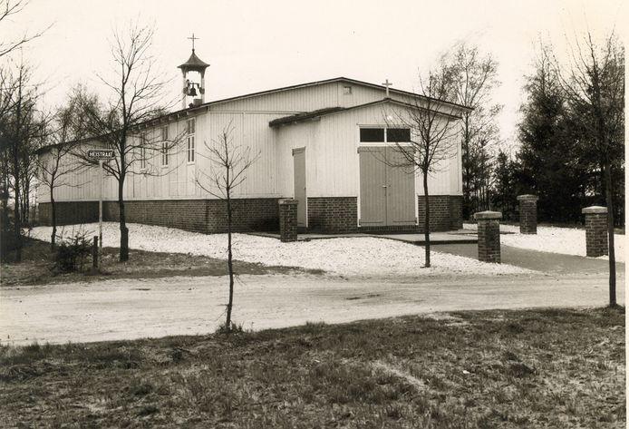 De noodkerk van Landhorst, 1951
