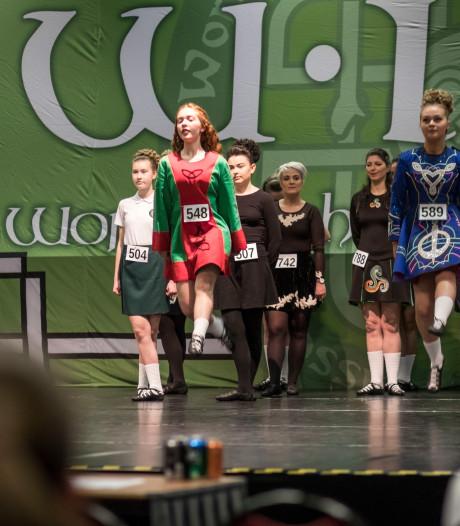 WK Ierse dans in Veldhoven: iedereen een medaille