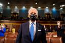 President Joe Biden in het Congres.