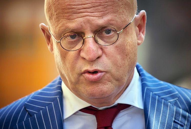 Minister Ferdinand Grapperhaus van Justitie en Veiligheid (CDA). Beeld ANP