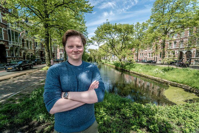 Marc Mackenbach verkocht zijn Delftse bedrijf aan Canadezen.