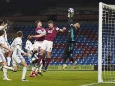 Leicester verspeelt punten tegen laagvlieger Burnley