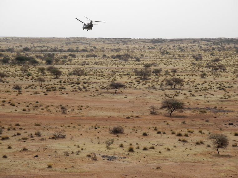 De slachtpartij vindt plaats juist op het moment dat Mali wordt bezocht door een delegatie van de VN-veiligheidsraad die vrijdag een missie boven het gebied maakte.  Beeld AFP