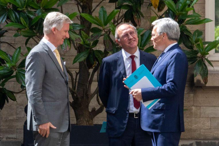 Verslag van informateurs Didier Reynders en Johan Vande Lanotte aan Koning Filip.