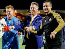 Bondscoach Louis van Gaal legt met Telstar koploper over de knie op unieke avond: '90 minuten lang totale pressing'