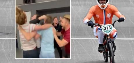 Niek Kimmann zet Rutte in de wacht, broertje uit zijn dak bij zien gouden race